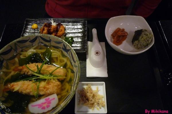 樂樂庵御飯屋-炸蝦烏龍麵