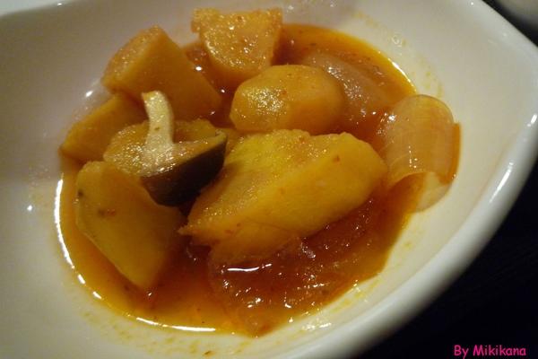 樂樂庵御飯屋-定食附餐的煮物