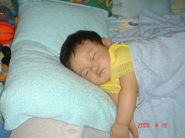 睡容很可愛