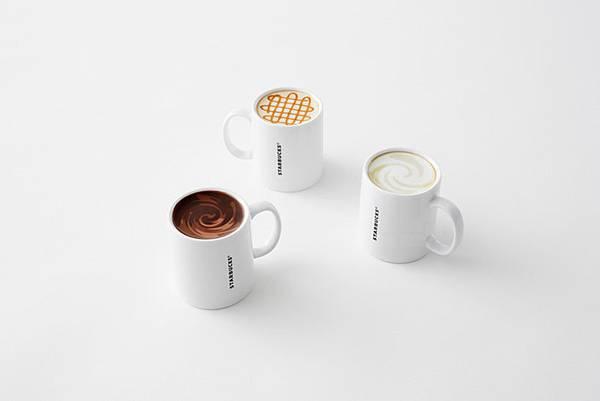mug collection for starbucks japan by nendo