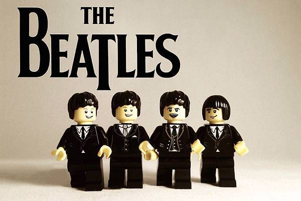 Iconic Bands Recreated in LEGO