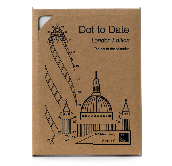 Dot to Date calendar by Dan Usiskin
