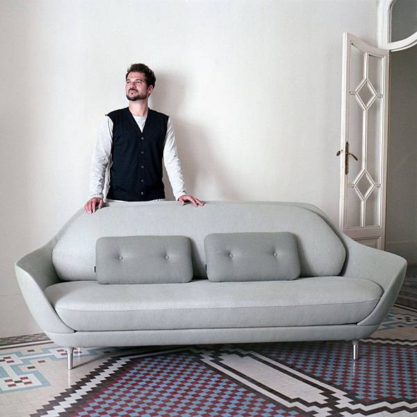 FAVN Sofa by Jaime Hayon for Fritz Hansen