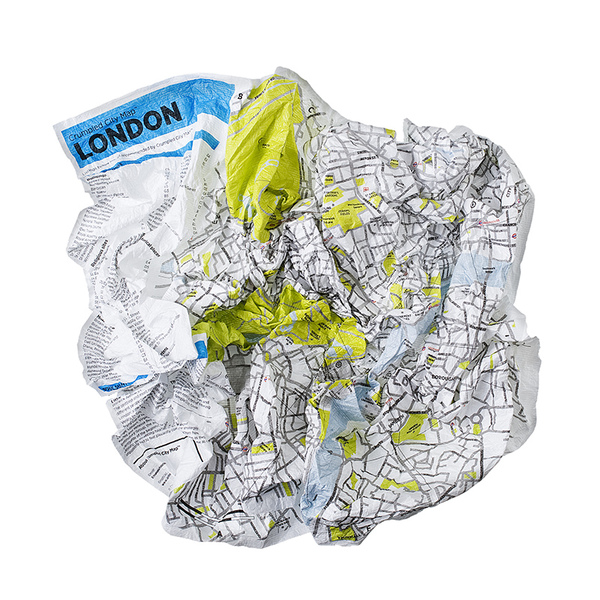 Crumpled City Emanuele Pizzolorusso