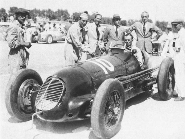 Montante Maserati 8CTF