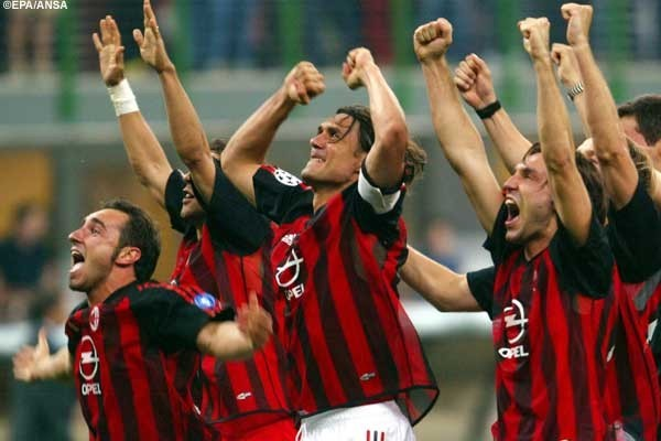 The moment Milan