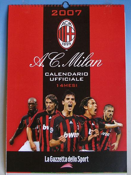 Milan Calendar  2007