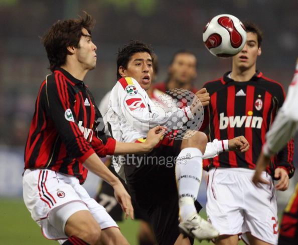 Milan vs Messina 兩個Kaka