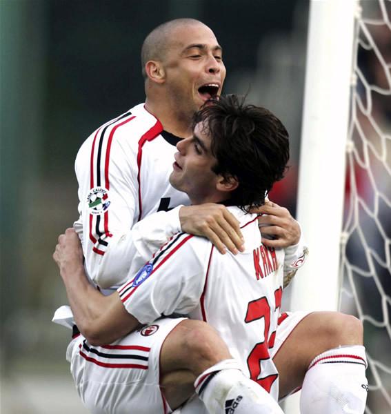 Kaka-Ronaldo 別壓壞米蘭的寶貝呀
