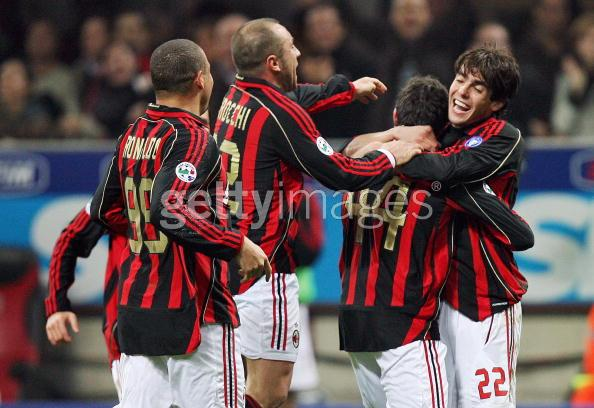 Milan-Chievo Kaka的表情很逗