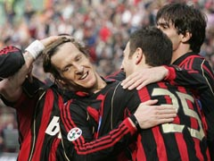 Ambro goal for Milan 20070318