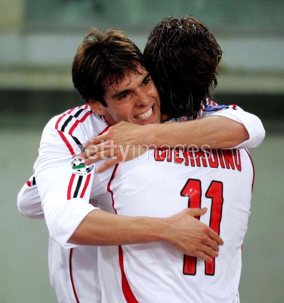 Roma- Milan Kaka還是很可愛