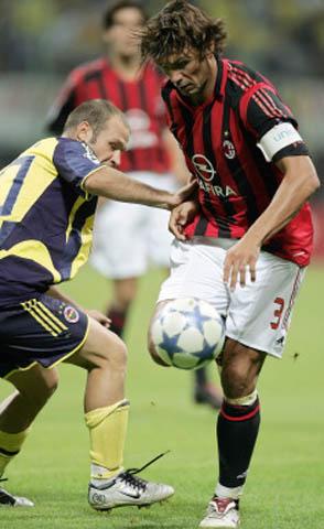 歐冠聖西羅首戰-Maldini