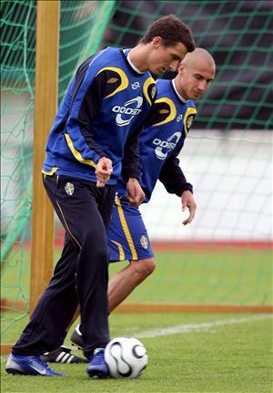 瑞典雙前鋒