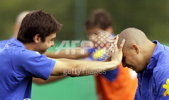 0616-Kaka Ronaldo的訓練是玩耍