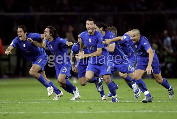 義大利勝利的瞬間