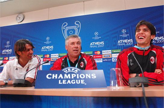 歐冠決賽前記者會 大家笑成一片放輕鬆