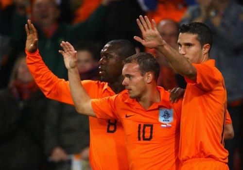 Euro2008預賽-20071017-荷蘭橙勝利