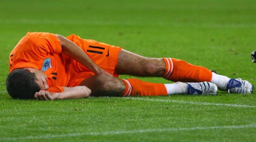 Euro2008預賽-20071017-荷蘭橙-無奈下場范佩西