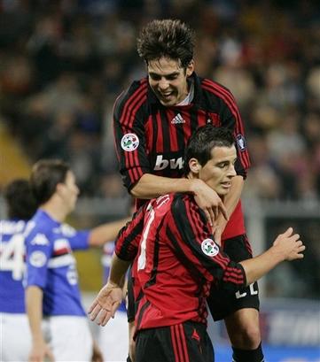 Milan-20071031-Sampdoria-Kaka二號也進球了