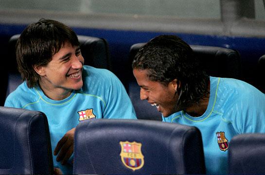 Barca-20071104-聯賽場邊17-18歲小可愛兩枚