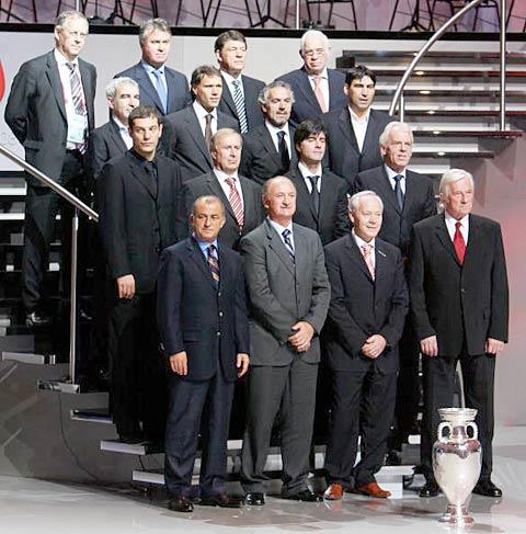Euro2008-20071202-小組抽簽-16強主帥