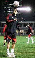 Milan-20071206-Japan-訓練