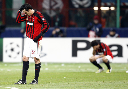 Milan-20080305-Yes, 輸球了