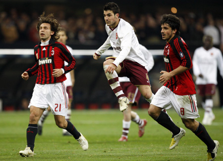 Milan-20080305-輸球瞬間