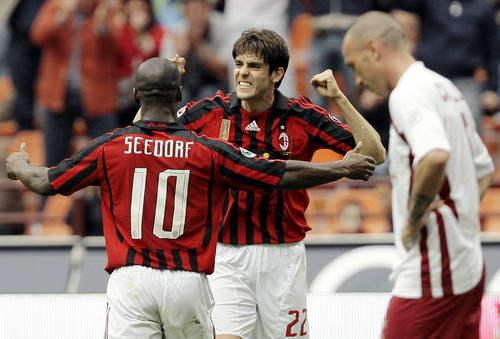 Milan-20080420-kaka戴帽-1