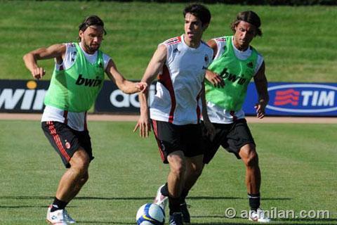 Milan-20080725-訓練-maldini-kaka
