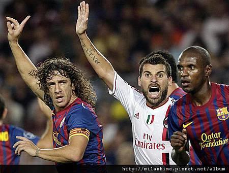 Milan-20110912-CLD1-Barca-新人上陣AntonioNocerino.jpg
