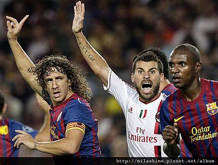 Milan-20110912-CLD1-Barca-新人上陣AntonioNocerino.jpg