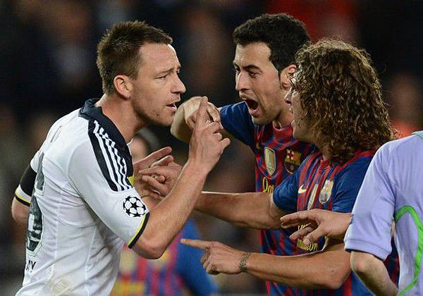 Barca-Chelsea-20120424-CLM12-Terry-Puyol這樣叫吵架