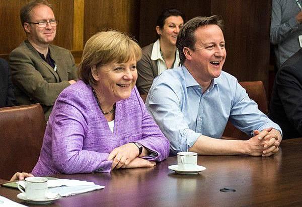 2012CLFinal-0519-Bayern-Chelsea-舉世關心-G8首腦會議-PrimeMinisterDavidCameron-AngelaMerkel-GermanChancellor