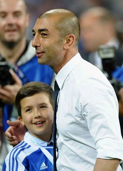 2012CLFinal-0519-Bayern-Chelsea-DiMatteo-son1