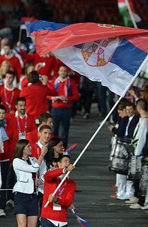 2012Olympic-0727-Nole-Serbia掌旗手-人來瘋-1a