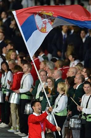 2012Olympic-0727-Nole-Serbia掌旗手-人來瘋