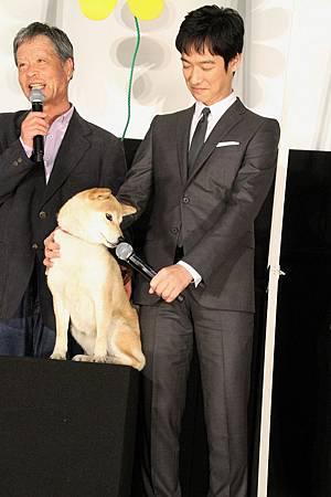 SM-20130316-Himawari舞台致意-dog-funny