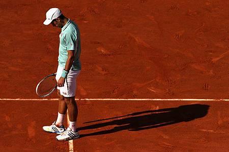 2013法網-Nole-Nadal-輸球時刻