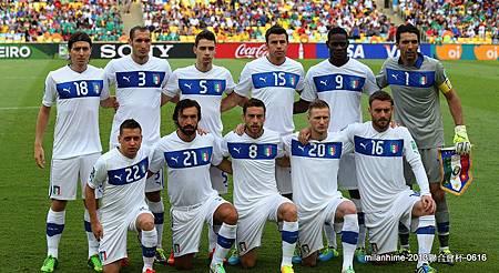 2013聯合會杯-0616-AzzurriEleven