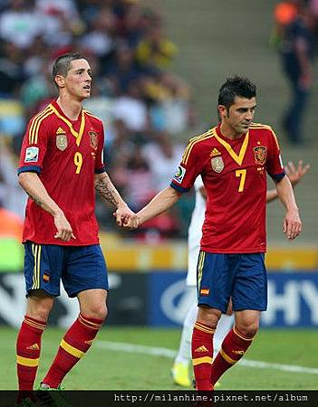2013聯合會杯-DavidVilla- Fernando Torres-goalx7