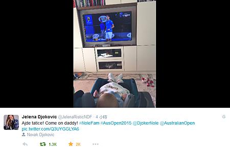 2015澳網-01-28-JelenaTwitter