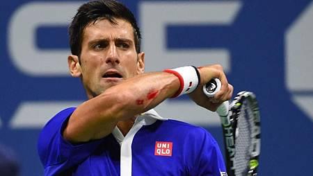 2015美網決賽-Nole-hurt