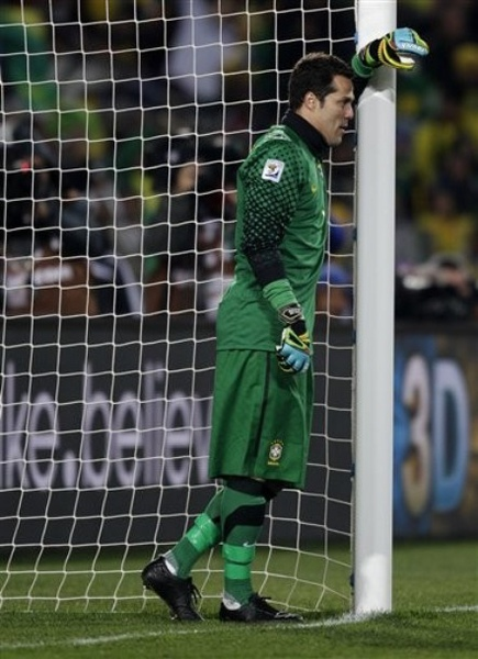 WC2010-門將-Brazil-JulioCesar-好土的球衣.jpg