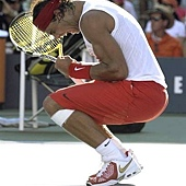 20080901-Nadal-美網辛苦進八強