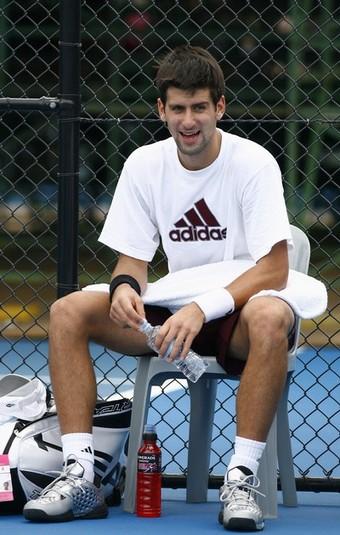 Djokovic-Brisbane-裝可愛20090104