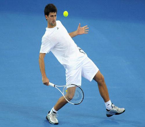 NDjokovic-澳洲練習-20090104