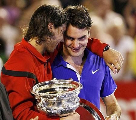 2009澳網final-0201-Federer-誰讓你笑2.jpg