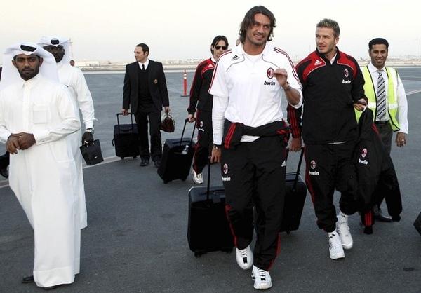 QatarDoha-抵達機場-maldini-beckham-20090303